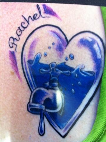 Rachel s tattoo tattoos by moreah for Memorial tattoos for daughter