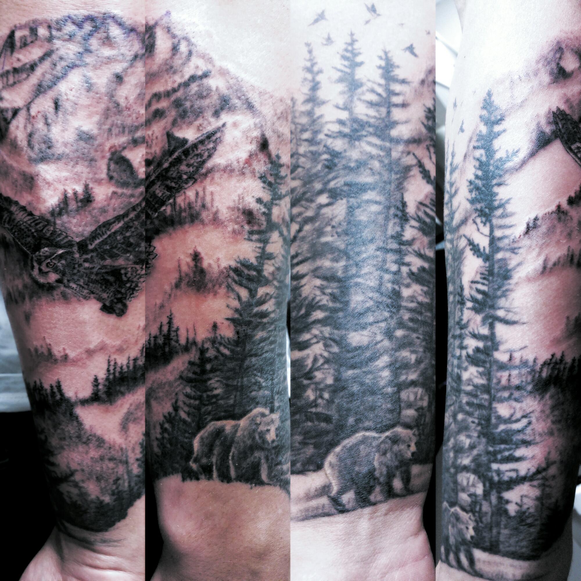 c41ada777 Owl and Bears – Tattoos by Moreah